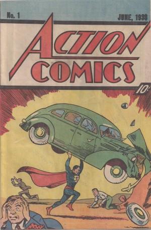 Action Comics 1983 #1 RP – c