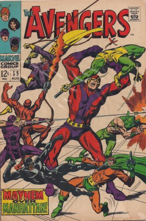 Avengers 1963 #55 – a – SOLD 7-20-13