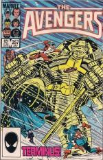 Avengers #257 - d1