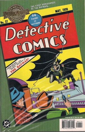 Batman – Detective Comics #27 – Mil Ed – a – SOLD 7-16-13