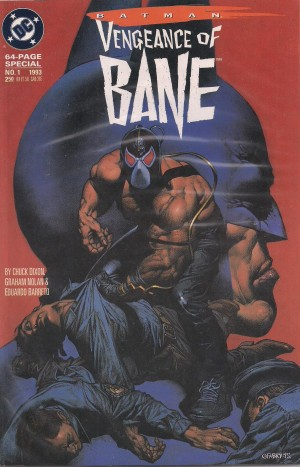 Batman – Vengeance of Bane 1993 #1 – a – SOLD 6-20-13
