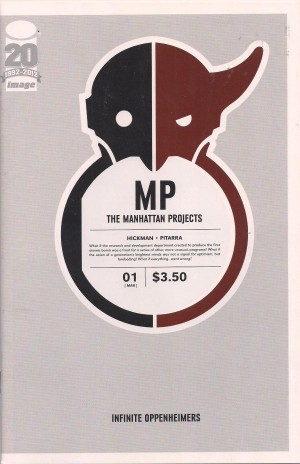 Manhattan Projects 2012 #1 First Printing – d3