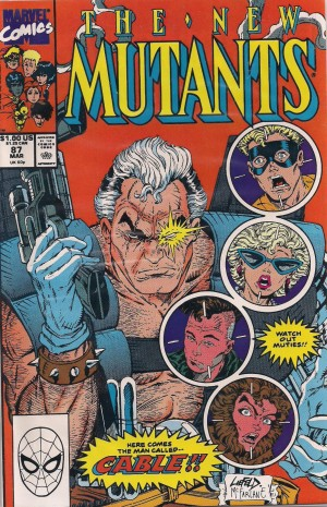 New Mutants #87 CABLE – a