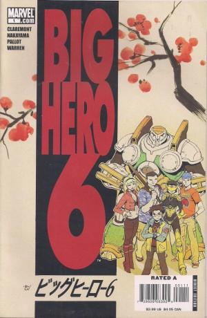 Optioned – Big Hero 6 #1 – a