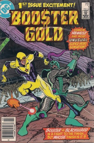 Optioned – Booster Gold 1986 #1 – a