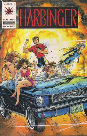 Optioned – Harbinger #1 1992 – A