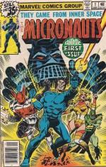Optioned - Micronauts 1978 #1 - a