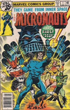 Optioned – Micronauts 1978 #1 – a