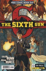 Optioned - Sixth Gun FCBD 2010 #1 - a