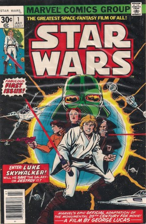 Optioned – Star Wars 1977 #1 – c
