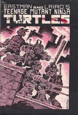 Optioned – TMNT #1 – THIRD PRINT – 1984 – a