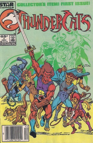 Optioned – Thundercats 1985 #1 – a
