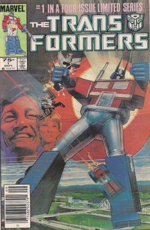 Optioned – Transformers 1984 #1 – a