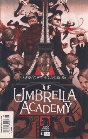 Optioned – Umbrella Academy #1 – a