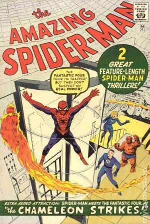 Spiderman #1 Golden Records