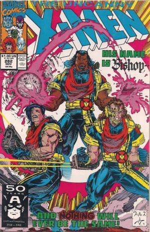 X-Men #282 BISHOP – a