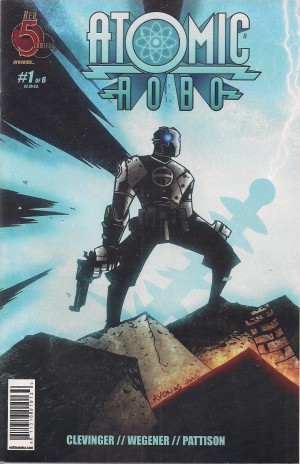 Atomic Robo 2007 #1 THIRD PRINTING – a