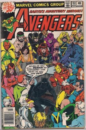 Avengers #181 – VF