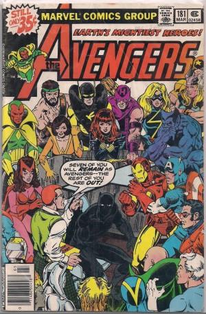 Avengers #181 – VG