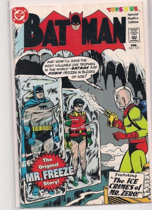 Batman #121 – RP – a – SOLD 11-28-13