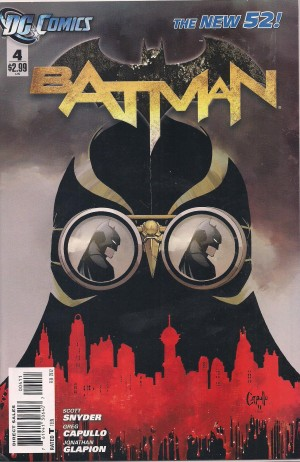 Batman 2011 #4 – a – SOLD 7-24-13