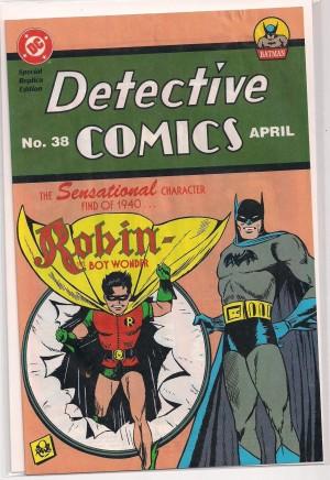 Batman – Detective Comics REPRINT #38 – a