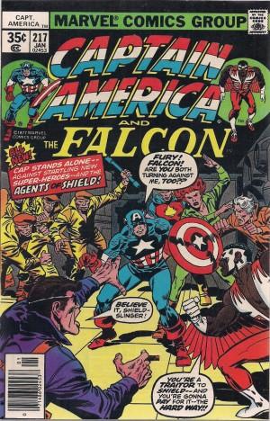 Captain America #217 – b