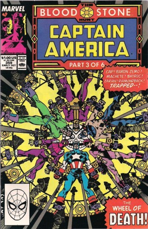 Captain America #359 – a