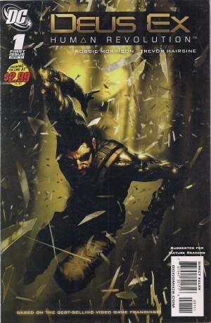 Deus Ex 2011 #1 – b – SOLD 4-2-14