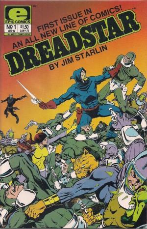 Dreadstar 1982 #1 – c