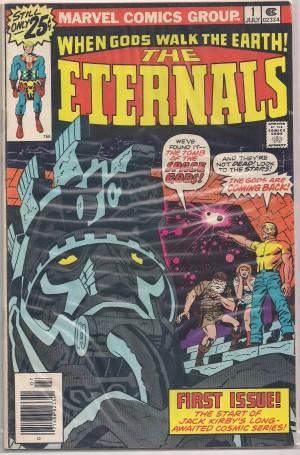 Eternals 1976 #1 – a