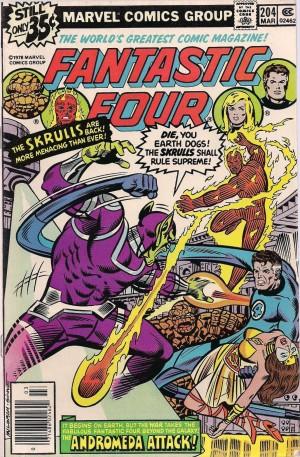 Fantastic Four #204 Nova Corps – a