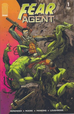 Fear Agent 2005 #1 – c – SOLD