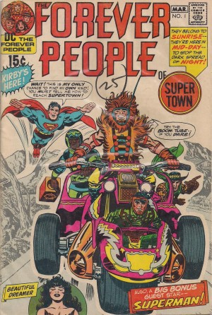 Forever People 1971 #1 – a – SOLD 9-30-13