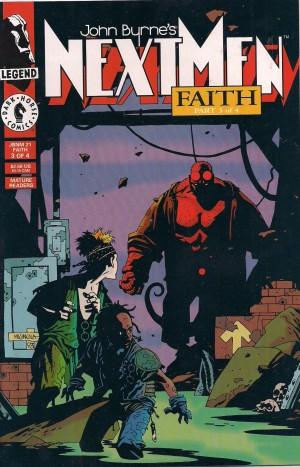 Hellboy – Next Men #21 – b – SOLD 8-8-13