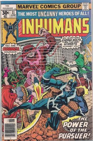 Inhumans #11 – a