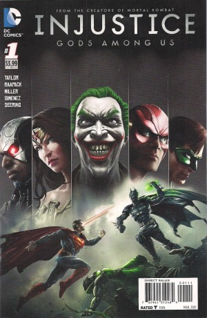 Injustice Gods Among Us 2012 #1 – a – SOLD 4-15-14