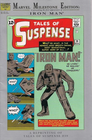 Iron Man – Marvel Milestone Tales of Suspense #39 – a