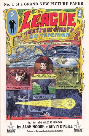 League of Extraordinary Gentlemen  #1 – a