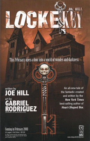 Locke & Key Preview – Fallen Angel #23 a