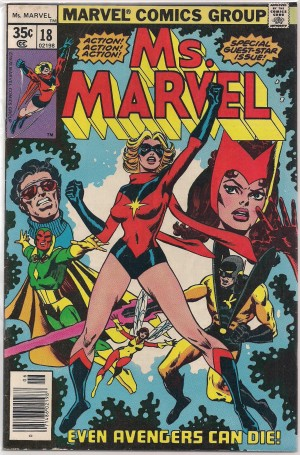 Ms Marvel #18 – a