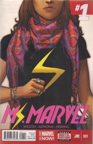 Ms Marvel 2014 #1 – d8 SOLD 3-29-14