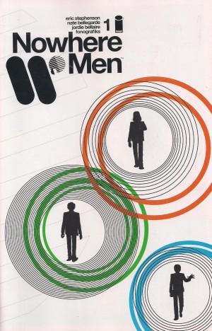 Nowhere Men 2012 #1 SECOND Print – a
