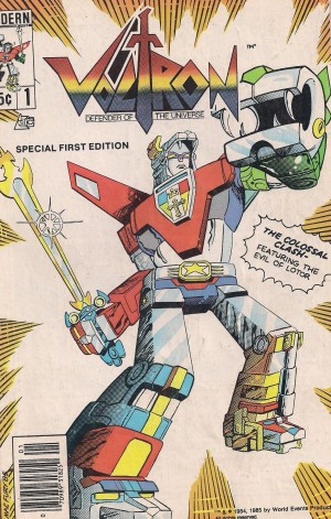 Optioned – Voltron 1985 #1 – a