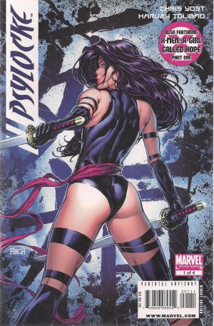 Psylocke 2009 #1 – a