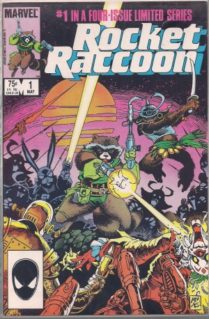 Rocket Raccoon #1 – a