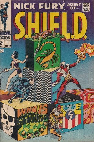 SHIELD 1968 #1 – a – SOLD 2-1-14