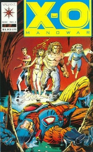 Shadowman – X-O Manowar #4 – 1st Appearance