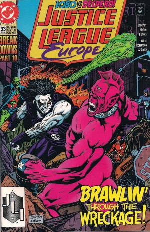 Sonic – Justice League Europe #33 – d11 – SOLD 8-9-13
