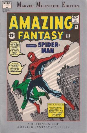 Spiderman – Marvel Milestone Amazing Fantasy #15 – a